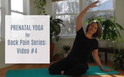 Prenatal Yoga for Your Back Series Complete!